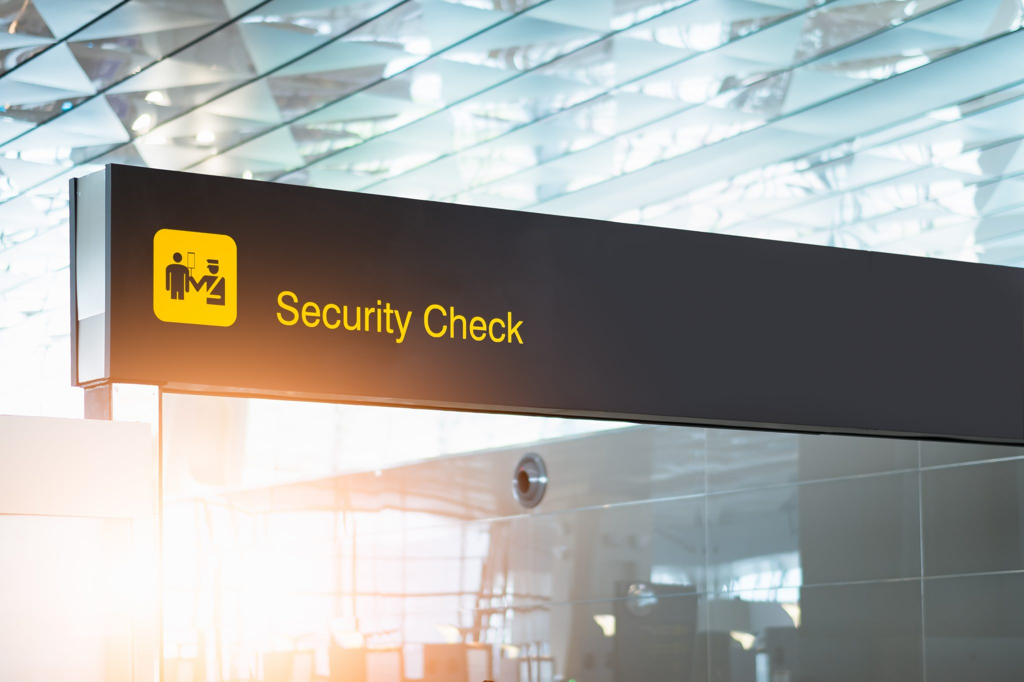 Security Checkpoint at an airport